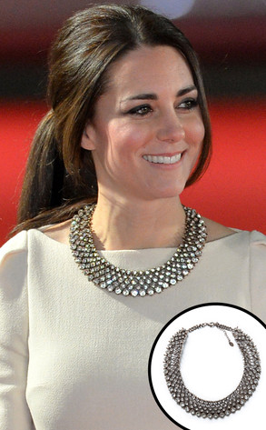 Catherine, Duchess of Cambridge, Kate Middleton, Zara Necklace