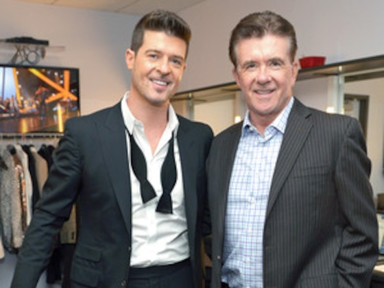 Robin Thicke Explains How Alan Thicke's Death Inspired New Music