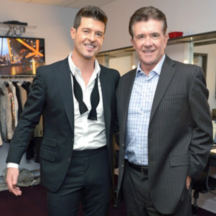 Robin Thicke Breaks Silence On His Father Alans Death E News