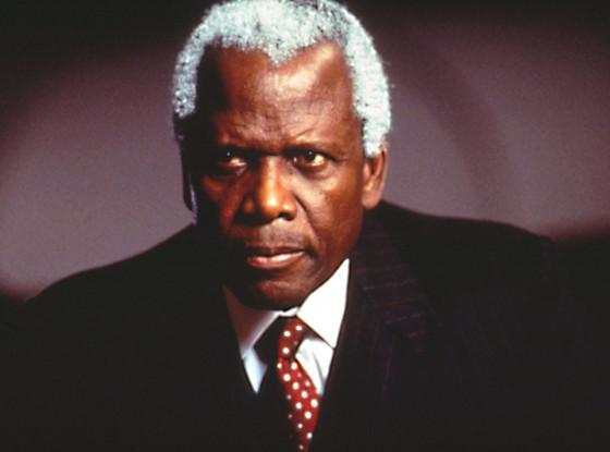 Nelson Mandela, Sidney Poitier