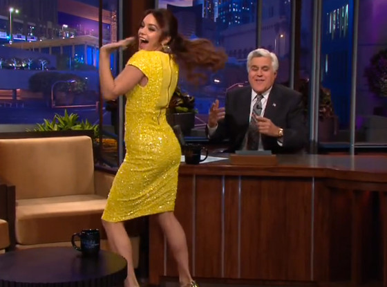 Vanessa Hudgens, The Tonight Show, Twerking