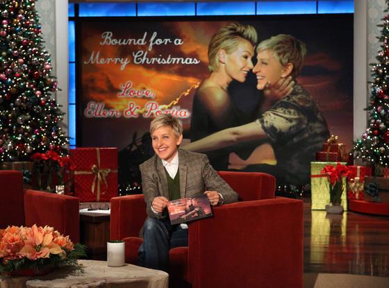 Elle DeGeneres, Portia De Rossi, The Ellen DeGeneres Show