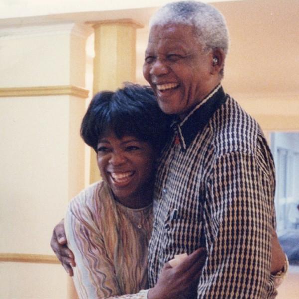 Oprah Winfrey, Nelson Mandela