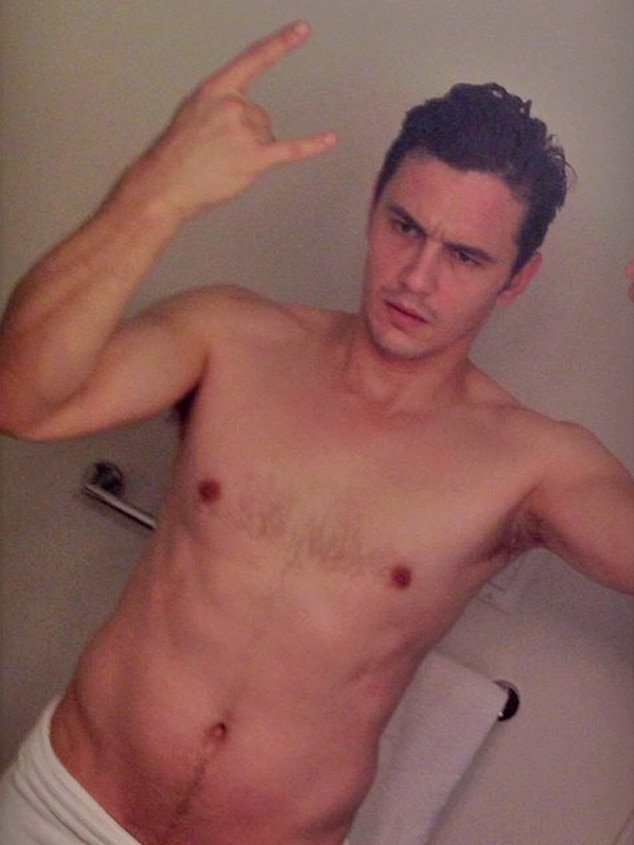 Nude pics of james franco