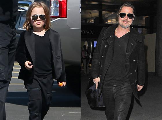 Knox Jolie-Pitt, Brad Pitt