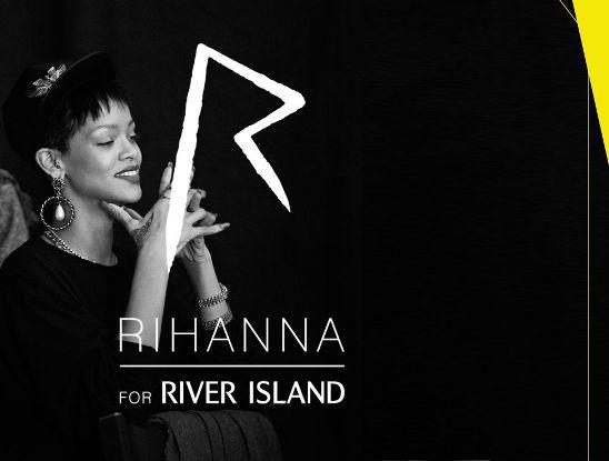 Rihanna, River Island, coleçao roupas