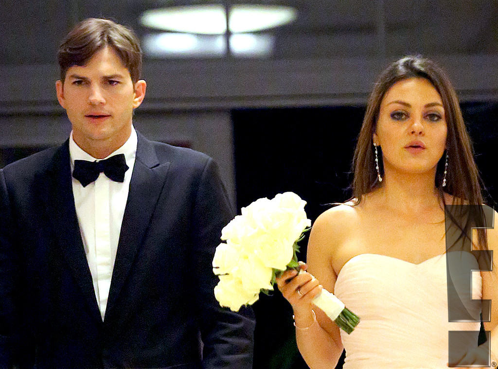Mila Kunis, Ashton Kutcher, Embargoed Until 3pm PCT 12.08.13