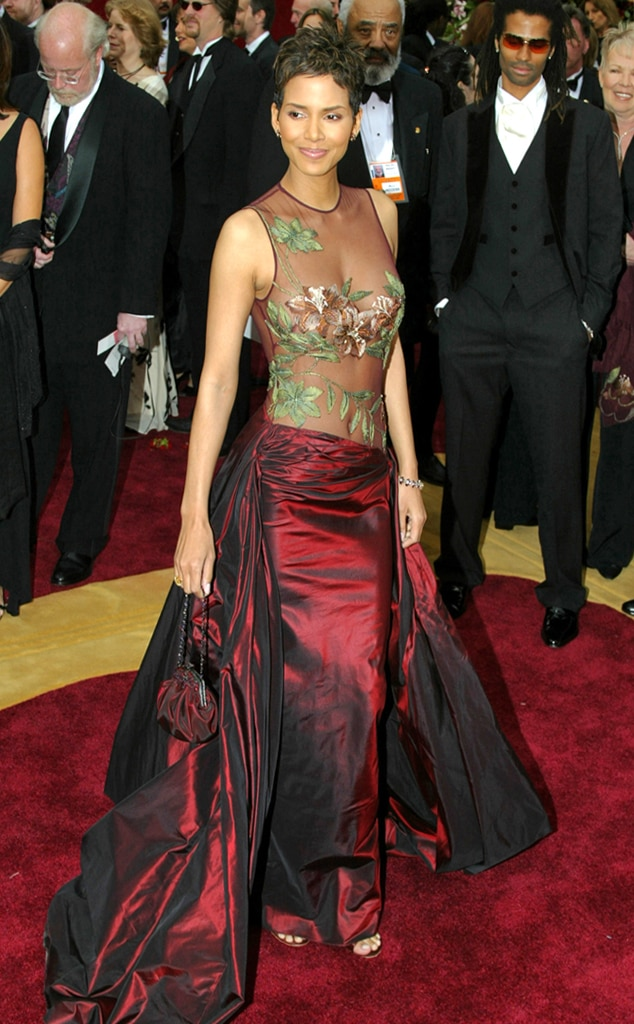 Elie saab from oscars fashion designer debuts e news - Designer red carpet dresses ...