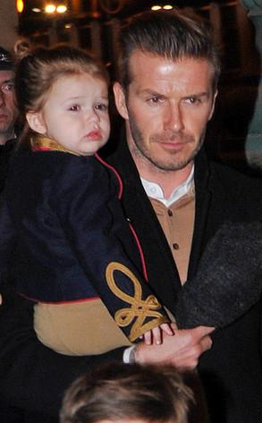 David Beckham, Harper, Victoria Beckham, Cruz, Romeo