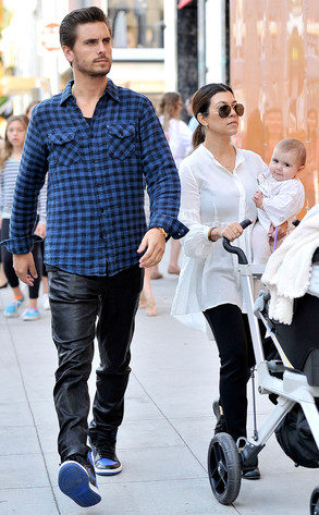 Scott Disick, Kourtney Kardashian, Penelope