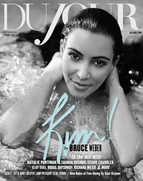 Kim Kardashian, DuJour Magazine