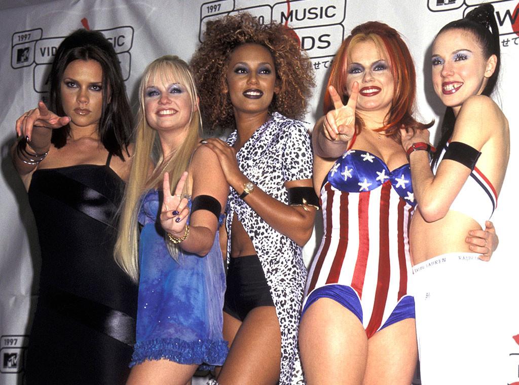 Victoria Beckham, Mel C, Emma Bunton, Geri Halliwell, Mel B, The Spice Girls