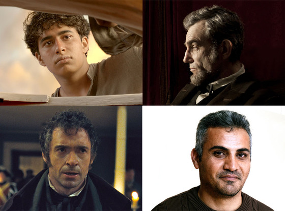 Lincoln, Les Miserables, Life of Pi, Emad Burnat