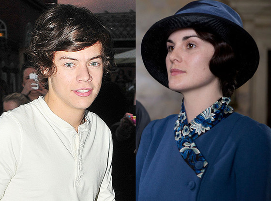 Michelle Dockery, Downton Abbey, Harry Styles