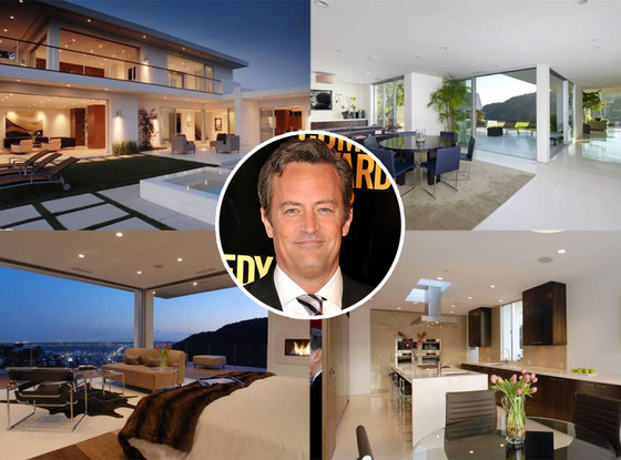 Matthew Perry, Hollywood Hills House