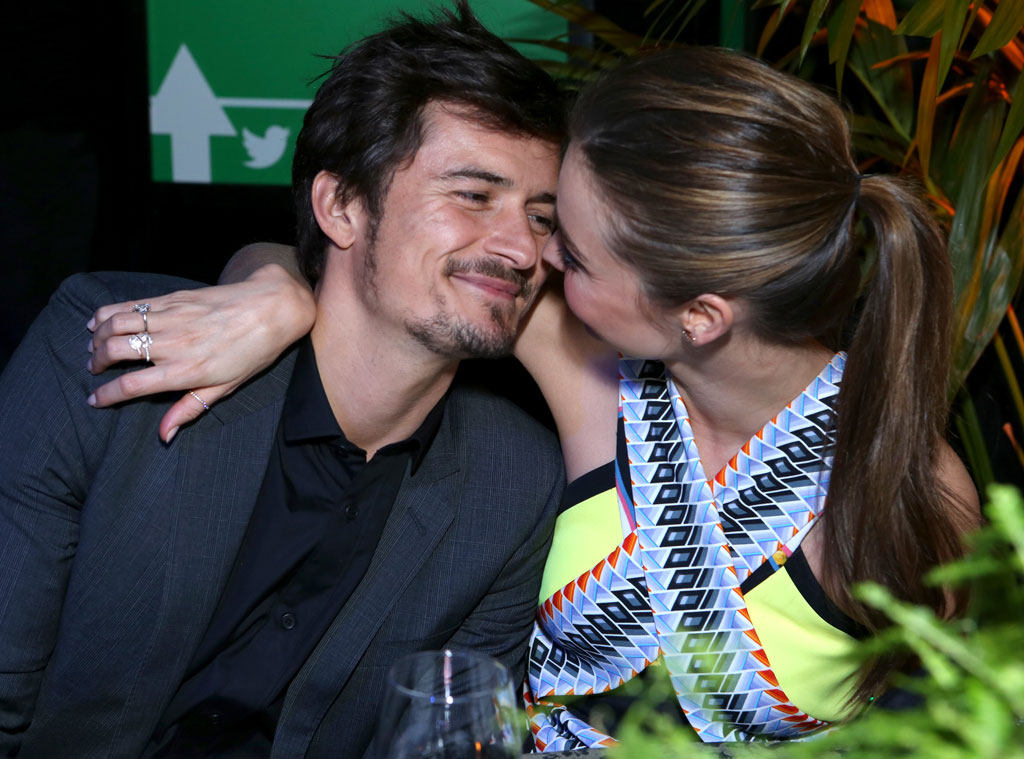 Orlando Bloom, Miranda Kerr