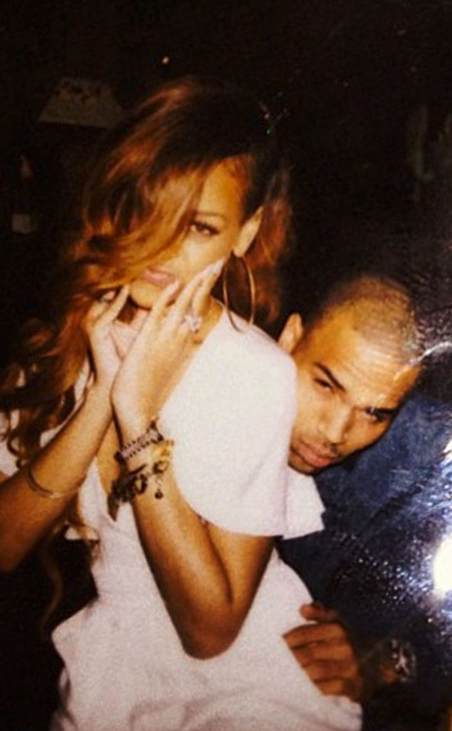Rihanna, Chris Brown, Twit Pic
