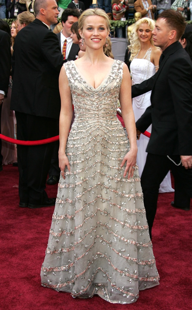 Reese Witherspoon from 50 Years of Oscar Dresses BestReese Witherspoon Oscar 2006