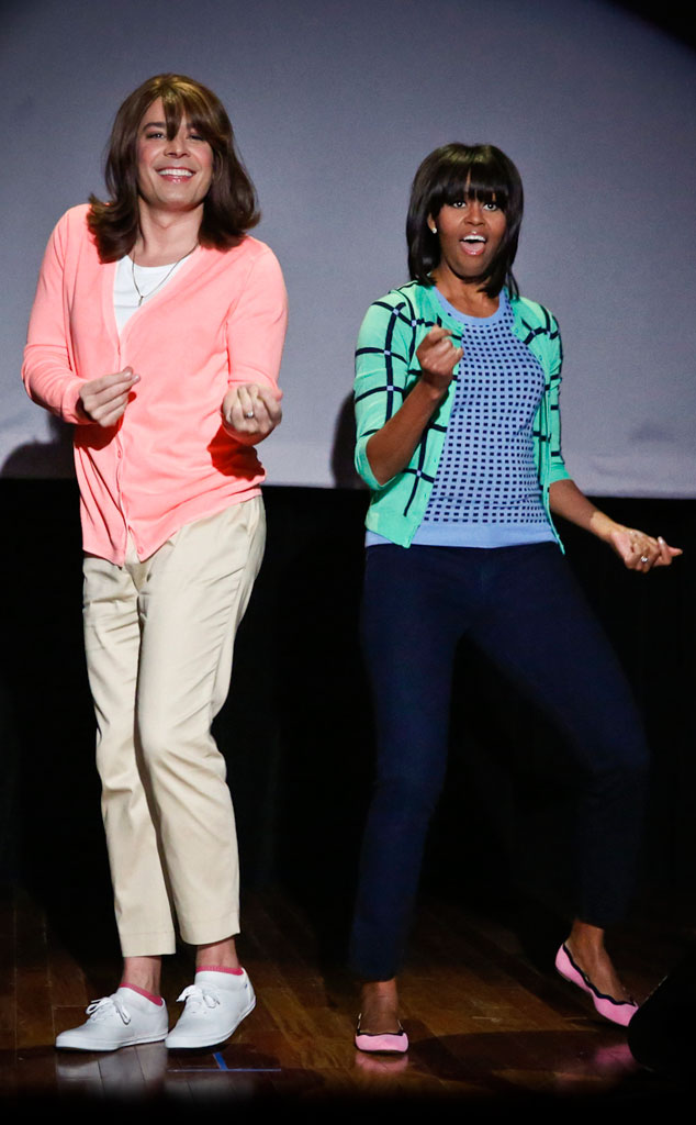 Jimmy Fallon, Michelle Obama