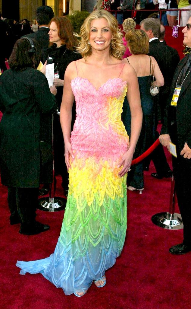Faith Hill from Worst Dressed Stars Ever at the Oscars | E ...