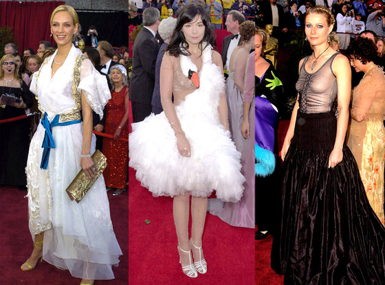 Uma Therman, Bjork, Gwenth Paltrow