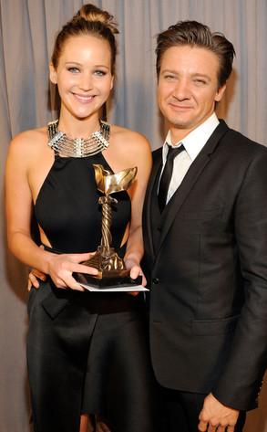 Jennifer Lawrence, Jeremy Renner