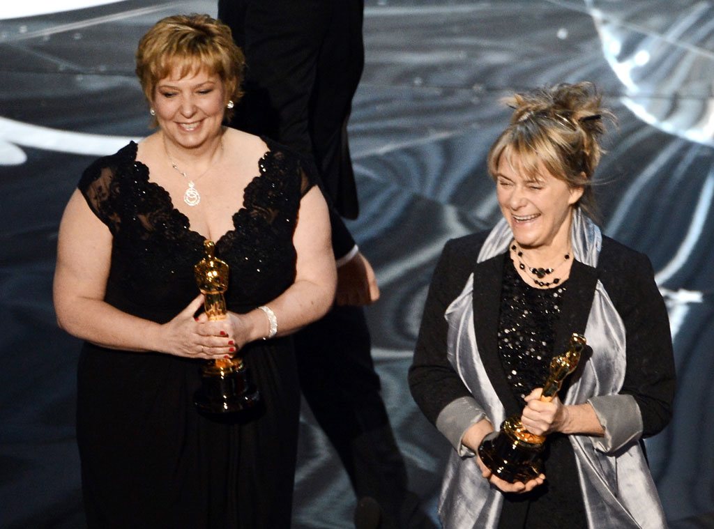 2013 Oscars Show, Makeup Artists, Lisa Westcott, Julie Dartnell