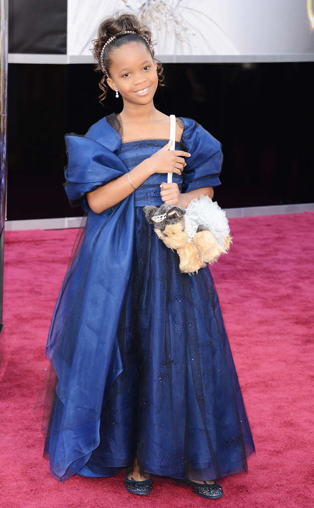 Quvenzhane Wallis, Oscars 2013