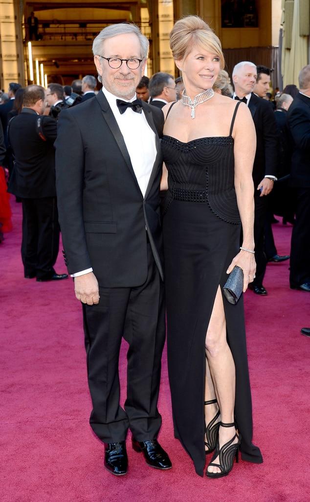 Steven Spielberg, Kate Capshaw, Oscars 2013