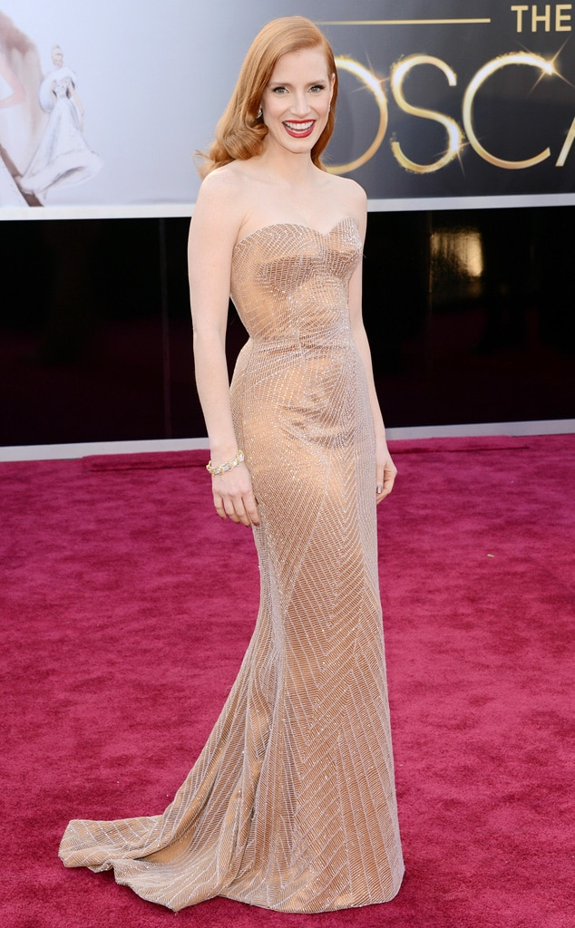 Jessica Chastain, Oscars 2013