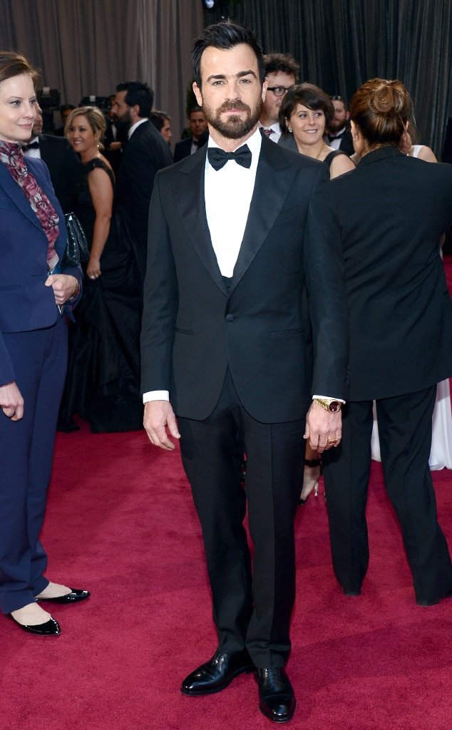 Justin Theroux, Oscars 2013
