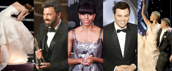 Best + Worst, Jennifer Lawrence, Ben Affleck, Michelle Obama, Seth MacFarlane, Channing Tatum
