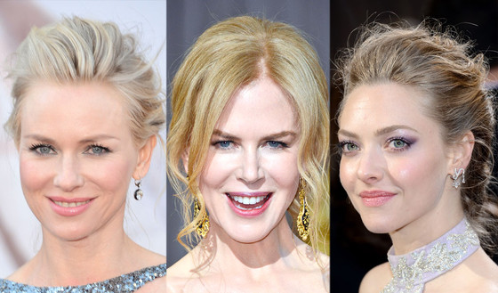 Oscars 2013, Naomi Watts, Amanda Seyfried, Nicole Kidman