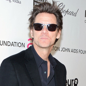 Jim Carrey, Elton John Oscars Party