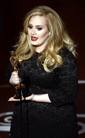 2013 Oscars Show, Adele