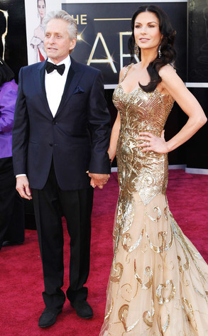 Catherine Zeta-Jones, Michael Douglas, Oscar 2013