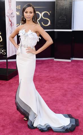 Zoe Saldana, 2013 Oscars