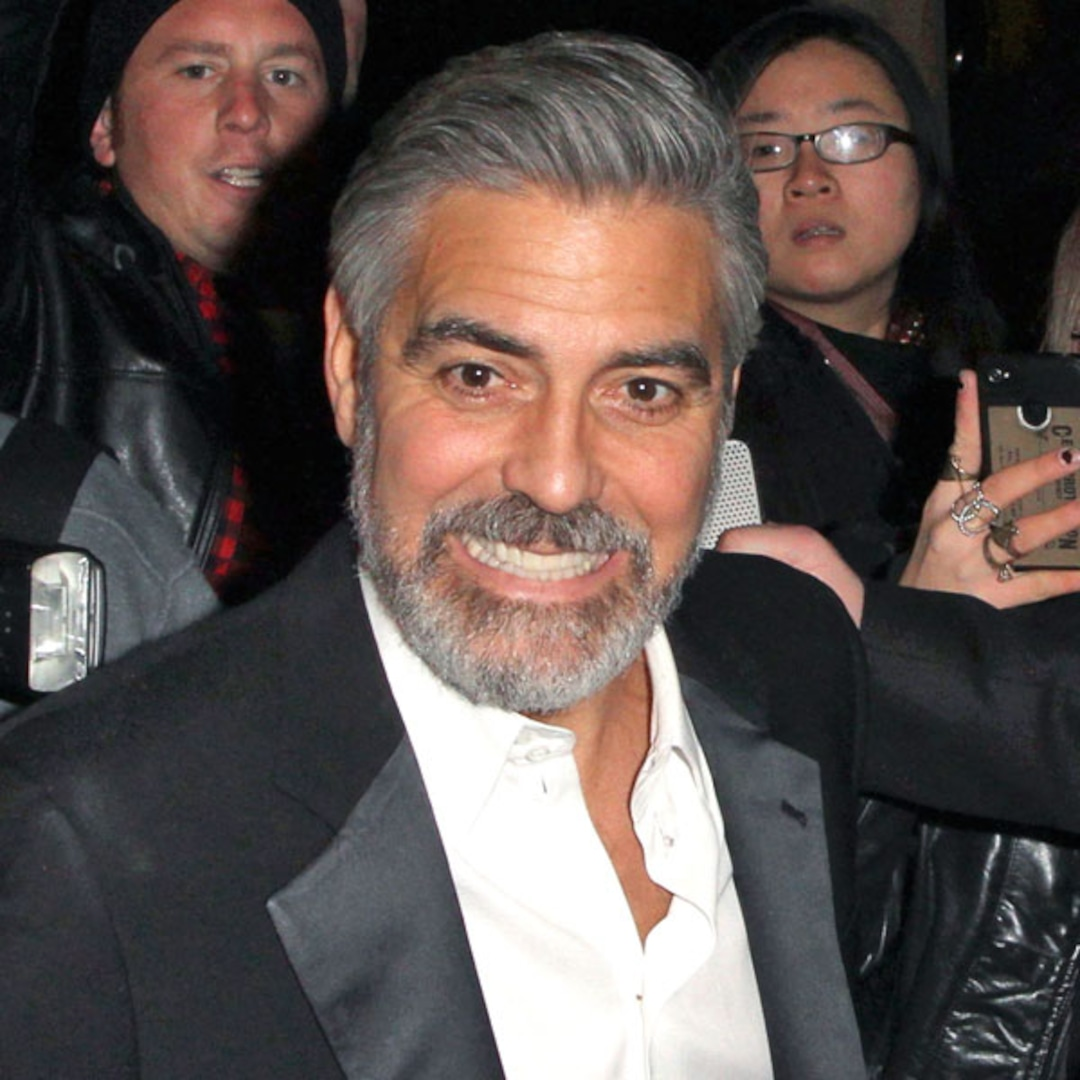 """Bearded George Clooney's Fifty Shades Of Grey: """"I Love It"""
