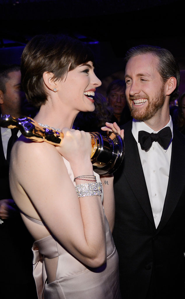 Anne Hathaway, Adam Shulman, Celeb Shark Smiles, Shark Week