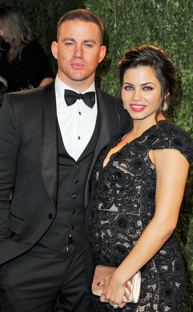 Channing Tatum, Jenna Dewan Tatum, 2013 Vanity Fair Oscar Party