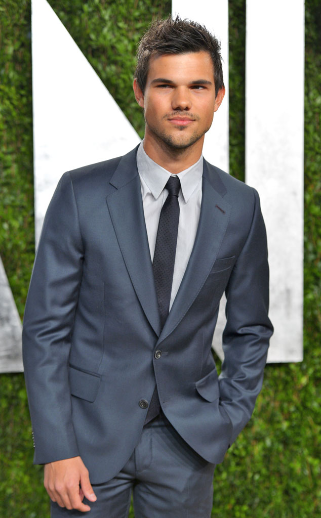 Taylor Lautner, 2013 Vanity Fair Oscar Party