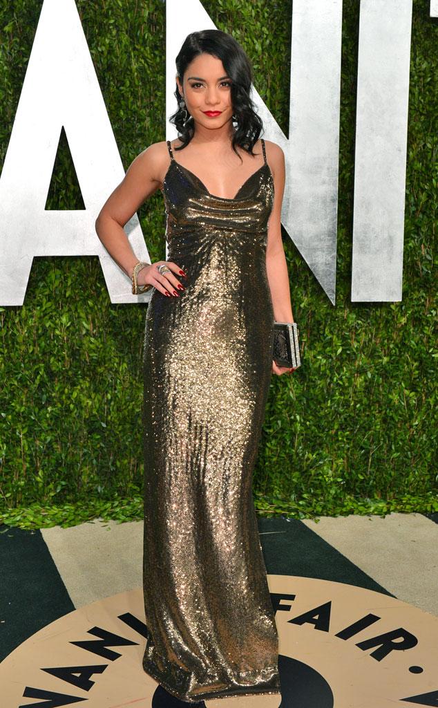 Vanessa Hudgens, 2013 Vanity Fair Oscar Party