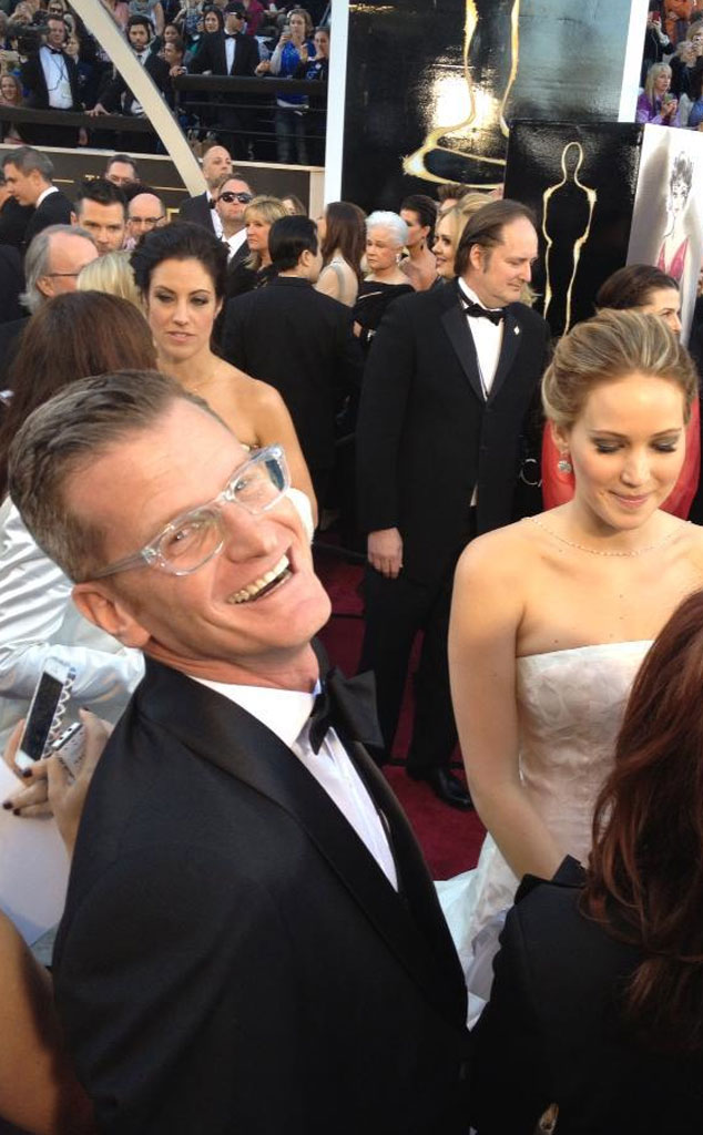 Marc Malkin, Jennifer Lawrence, All Access, Oscars