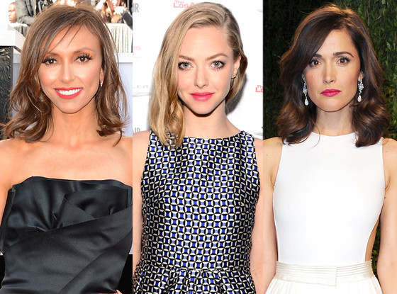Giuliana Rancic, Amanda Seyfried, Rose Byrne