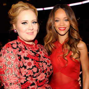 Adele, Rihanna, Grammys