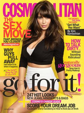 Kim Kardashian, Cosmopolitan Magazine