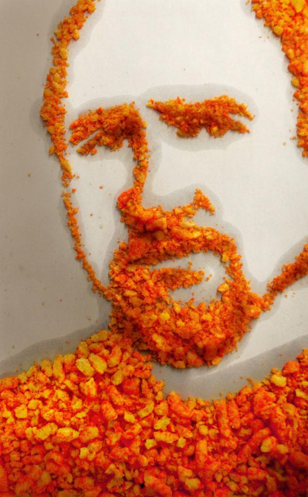 Louis C.K., Cheetos Art