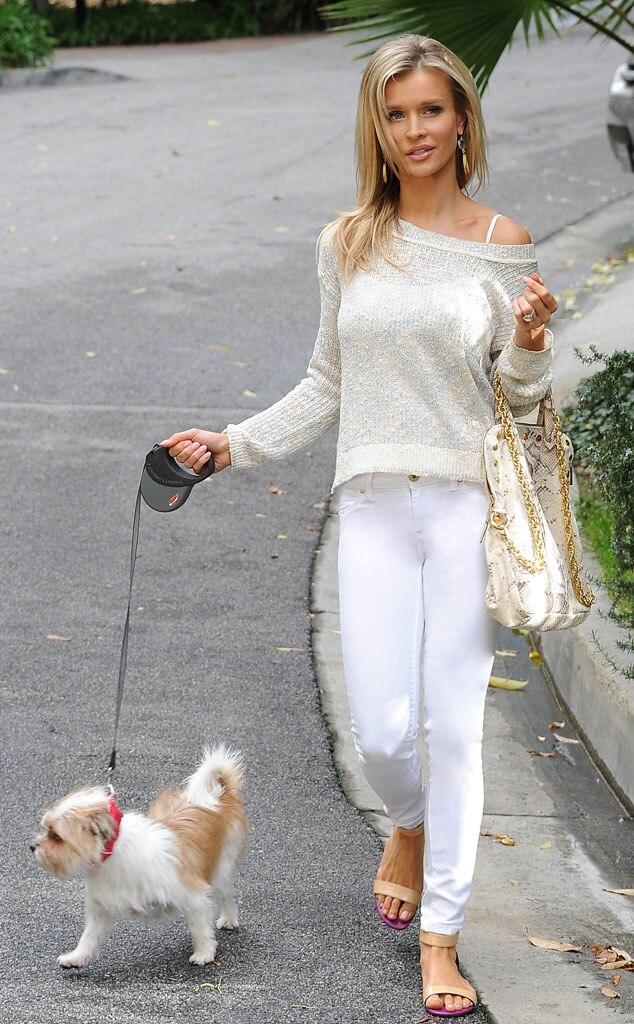 Joanna Krupa, dog
