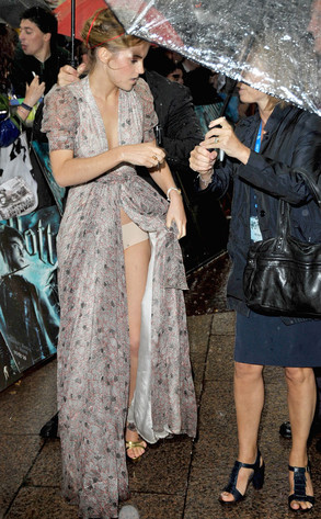 Emma Watson, Wardrobe Malfunction