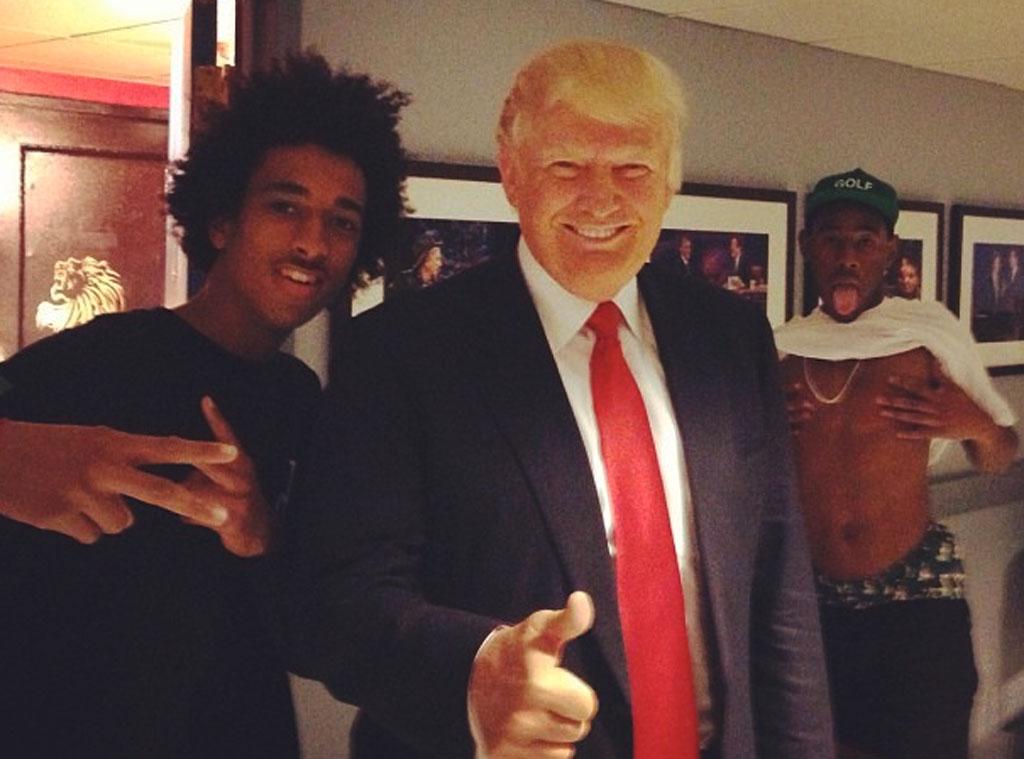 Donald Trump, Photobomb, Instagram